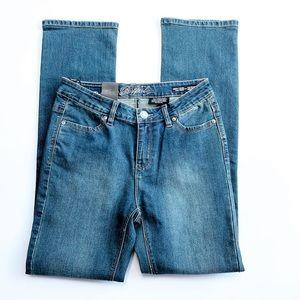 Buffalo David Bitton Mid Rise Straight Leg Jeans